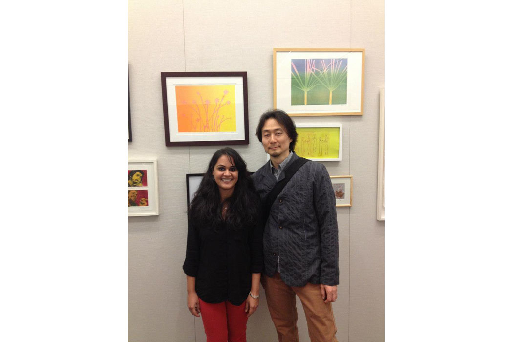 Printmaking group exhibit 2012