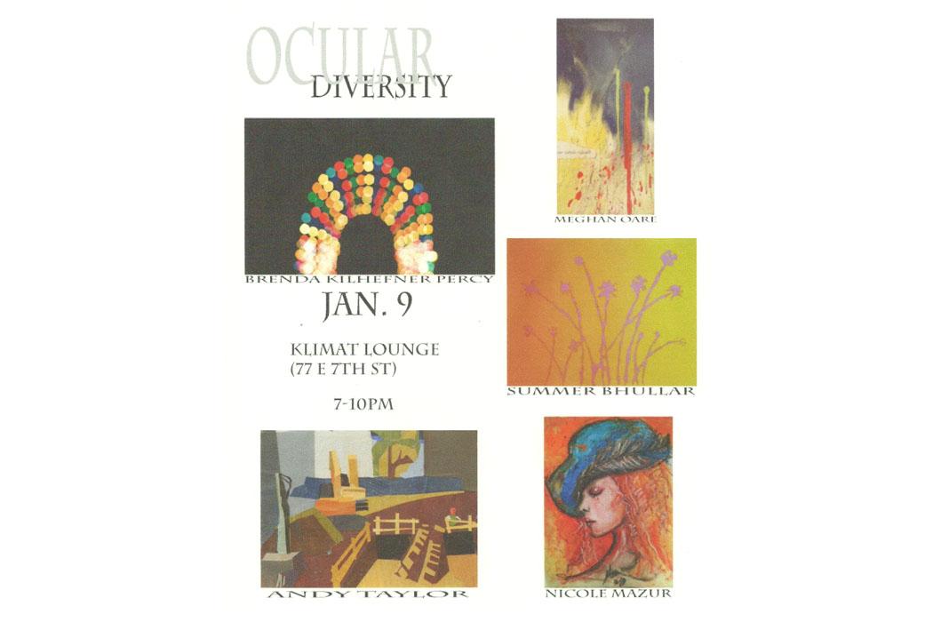 Ocular Diversity Exhibition