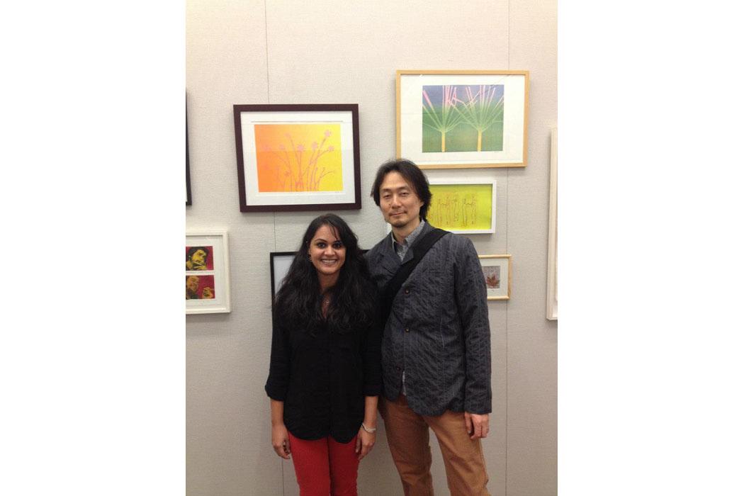 Printmaking group exhibit 2012